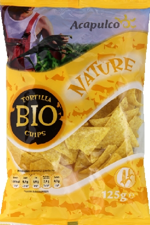 Tortilla chips maïs natures