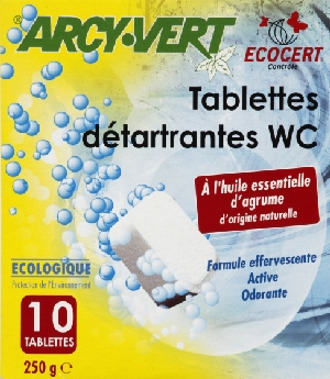 Tablettes WC détartrantes (10)