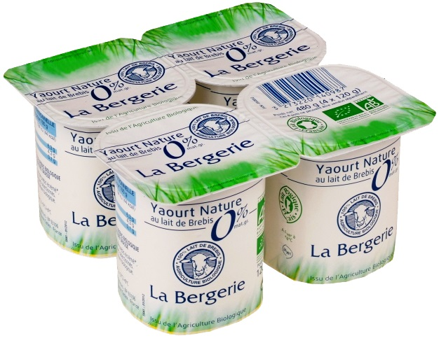Yaourt nature 0%MG brebis