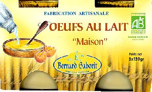 Oeufs au lait tradition