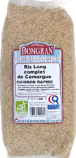 Riz long complet Camargue CR