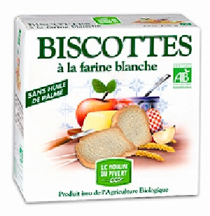 Biscottes blanches