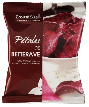 Chips pétales de betterave