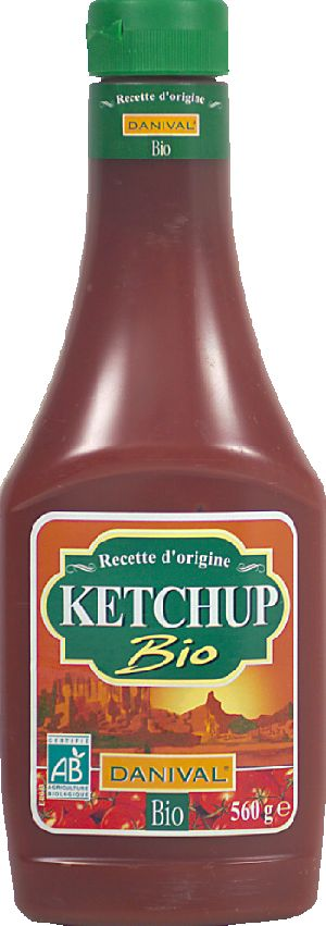 Ketchup sucre canne flacon souple
