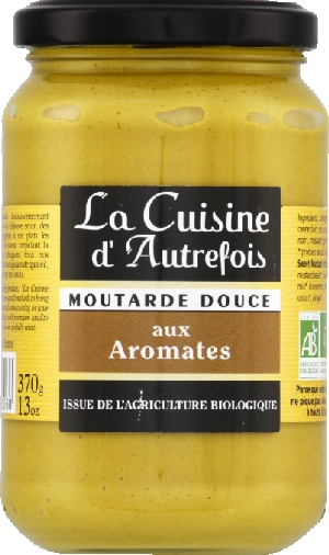Moutarde douce aromates