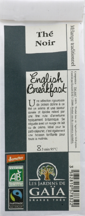 Thé noir english breakfast