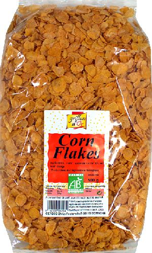 Corn flakes sucre de canne