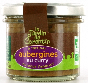 Tartinable aubergine curry