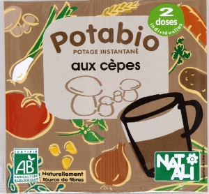 Potage cèpes