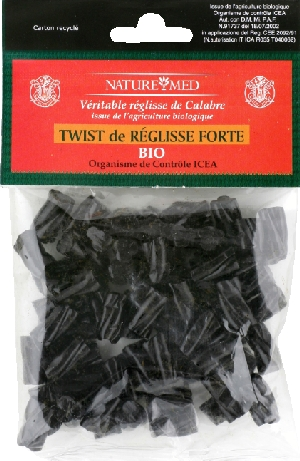 Réglisse cordon twist douce