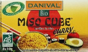 Miso soja curry cubes (8)